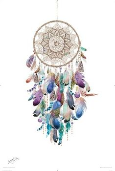 Summer Thornton Dream Catcher Regular Poster measuring 61x91 cm (01-4210). Fast shipping from Sydney, Australia.