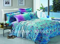 pink purple and turquoise bedding - Google Search