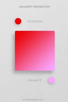 16 Beautiful Color Gradient Inspiration Part 2 Web Design, Graphic Design Trends, Graphic Design Projects, Graphic Design Inspiration, Color Inspiration, Book Design, Layout Design, Cover Design, Pantone Colour Palettes