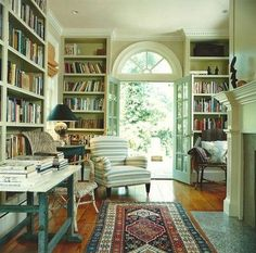 country house library - Google-Suche