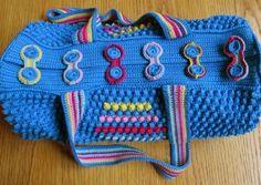 Mermoz Round Crochet Bag Is A Free Pattern