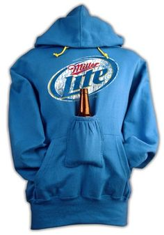 LOVE THIS!!!  I have it in grey already but I love it even more in Blue...my fav color and my fav beer!  It's a win/win!
