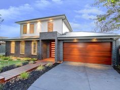 Simple house that would need show stopping details. Photo of a brick house exterior from real Australian home - House Facade photo 1144427