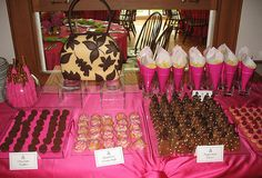 Purse Themed Mothers Day Sweet Table