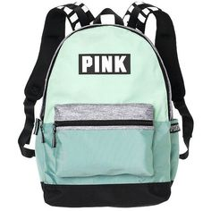 Amazon.com | Victoria's Secret Pink Campus Backpack Animal... (405 MXN) ❤ liked on Polyvore featuring bags, backpacks, victoria secret pink bags, black white bag, animal print bag, daypack bag and rucksack bags