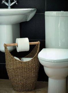 Very cute toilet paper holder