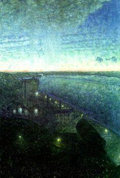 Eugene Jansson (1862-1915): Soder Malarstrand, 1896