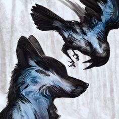 Belas pinturas de animais realizadas com apenas algumas pinceladas!Zupi