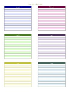 Study Planner Template  Paper Crafty  Printables