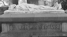 """""""Catedrático de anatomia"""" Cementiri de Montjuïc Barcelona"""