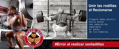 Error al realizar sentadillas. #Salud #Nutrición #Cardio #Musculacion #Culturismo #Fitness #Gym #ComeSano #SweatGym #SoySweatGym #TerritorioSweatGym #MrSweat #SweatGymxVenezuela #ejercicio #fisicoculturismo