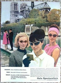 Ah oui, the allure of Renauld sun glasses...Valentine Vintage will be offering a pair at their trunk show, June 23rd, Black Watch Pub, New Bedford...
