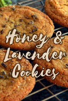 Honey & Lavender Cookie recipe from Lovely Greens