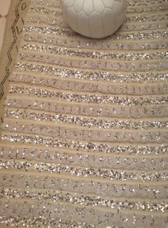 Vintage Moroccan Handira Wedding Blanket Throw by BoutiqueMaroc