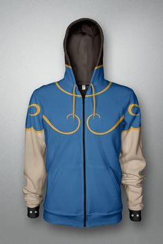 Street Fighter: Chun-Li Ladies Costume Hoodie $50