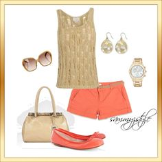 Casual Summer, created by sammyzstyle on Polyvore