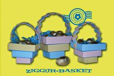 Ziggur-Basket Tutorial. These stair-step baskets practically make themselves! http://thepapercraftpost.blogspot.co.uk/2015/02/ziggur-basket-tutorial.html