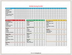 Daily Checklist Template Word - Daily To Do List Template For Word ...