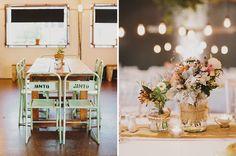 Tahnee & Curtis Urban Industrial Reception / Photography - Lover Of Mine / Lighting - AVIdeas / Floristry - Kate Dawes Flower Design