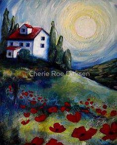 Country House by Cherie Roe Dirksen #prints #art #landscape