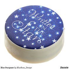 Blue Stargazer Chocolate Covered Oreo Cookie Icing, Oreo Cookies, Chocolate Dipped Oreos, Oreo Pops, Cookie Gifts, Valentines Day Treats, Stargazer, Confectionery, Corn Syrup
