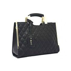 Bessie London Black Handbag Discount Designer Handbags, Black Handbags, Handbag Accessories, Louis Vuitton Damier, Shoulder Bag, London, Pattern, Black Purses, Model