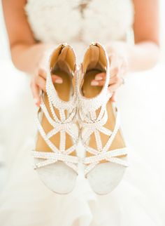 wedding #shoes | Turks and Caicos Wedding Weekend from Lindsay Madden Photography   Read more - http://www.stylemepretty.com/destination-weddings/2013/11/04/turks-and-caicos-wedding-weekend-from-lindsay-madden-photography/