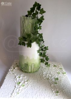 think green - acts of green collaboration by maria antonietta motta - arcake - Different Wedding Cakes, Unique Wedding Cakes, Wedding Cake Designs, Unique Weddings, Cake Design Inspiration, Daily Inspiration, World Earth Day, Sustainable City, Cake Trends