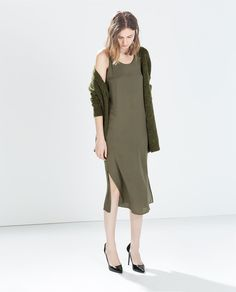 ZARA - WOMAN - DRESS WITH KNOT AT THE BACK