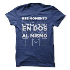 Ese momento in which empiezas a pensar en dos languages al mismo time...