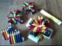Super Cute Back to School Bow***For Sale***Camp Pendleton