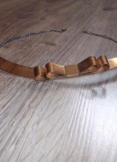 Kup mój przedmiot na #Vinted http://www.vinted.pl/kobiety/bizuteria/9763698-naszyjnik-kokardka-zloty