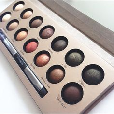 Laura Geller Delectables Eye Shadow Palette Nude Beautiful Laura Geller eye shadow palette. The Delectables. Delicious shades of nude. Only used twice - many colors still unused. (The swatch photo is not mine) Makeup brush completely unused. LIKE NEW. Laura Geller Makeup Eyeshadow