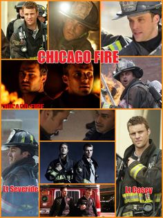 Chicago Fire... Casey and Severide #truck #rescue