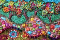Fiber art ... Michelle Mischkulnig