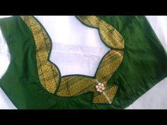 paithani saree blouse design - YouTube