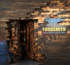 An Old Blacksmith's Workshop, abandoned and turned down by time, only to be given birth again many years later as a FireWood Oven and grill restaurant.Built Almost entirely from reclaimed materials, FoodSmith restaurant in TajMall - Amman reflects what …