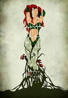 Poison ivy- you know you can't resist me.