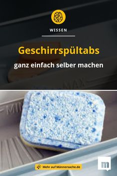 We explain how to quickly and easily make your own # Geschirrspültabs can produce. it Yourself # MännERsache Source by fitcaroreh The post Make dishwasher tablets yourself: It& so easy! appeared first on Alba& Soap Works.