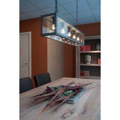 Zenia hanglamp 5 - loodkleur