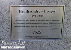Image result for grave site of heath ledger