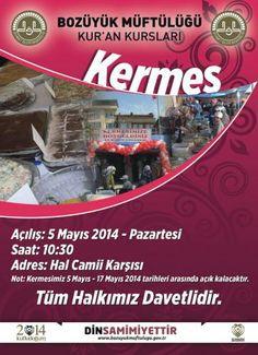 Hayır Çarşısı | 05-17 Mayıs 2014 Bilecik, Bozüyük İlçe Müftülüğü Kermesi | http://hayircarsisi.com