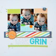 Grin - Scrapbook.com