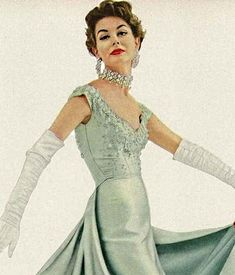 1953 Vogue evening jewelry