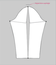 sleeve adjustment spread the pattern