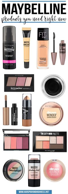 STOP EVERYTHING! These are the must have Maybelline products you need to order right now!