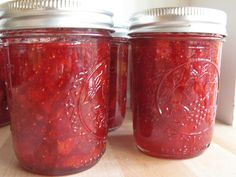 strawberry fig preserves (same recipe my Nanny used :)