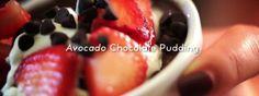Avocado Chocolate Pudding. A tasty, healthy alternative that's vegan friendly. Enjoy! [47 seconds]