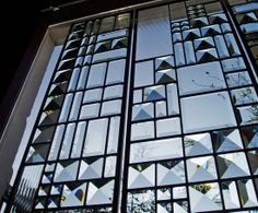 Steel-lights and prismatic glass