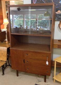 Mid-Century Modern Hutch $185